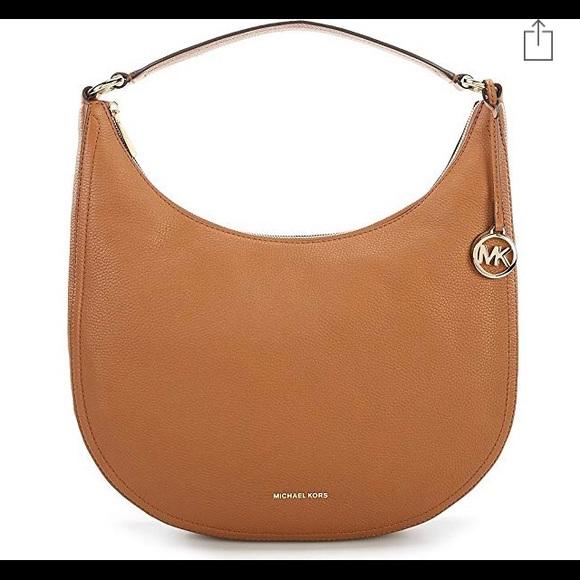 Michael Kors Bags   Nwt Lydia Hobo Leather Handbag   Poshmark ecbaa7656a